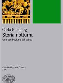 Storia Notturna di Carlo Ginzburg