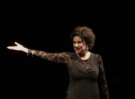 L'attrice Licia Maglietta interpreta la scrittrice Clotilde Marghieri al Piccolo Eliseo in Roma