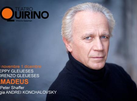 Al Teatro Quirino in Roma va in scena Amadeus scritto da Peter Shaffer