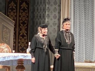 Giulia Lazzarini e Anna Maria Guarnieri